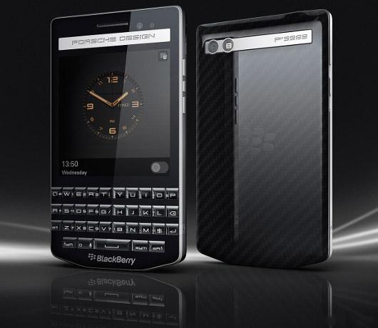 BlackBerry Porsche Design P'9983: specs and details