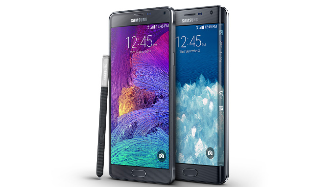 galaxy note 4 and edge