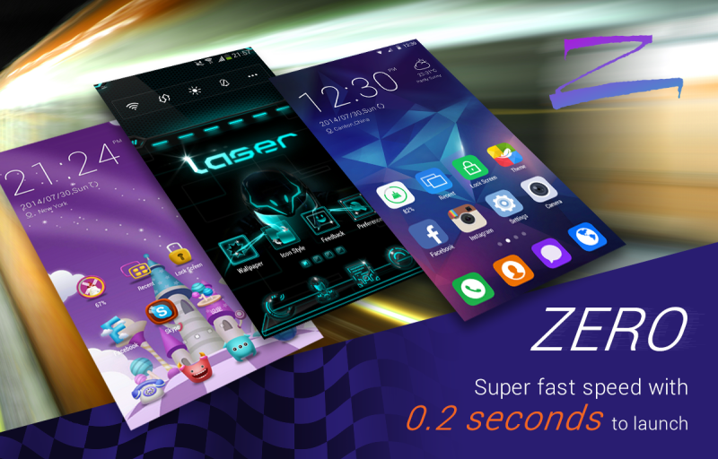 Zero Launcher: Review