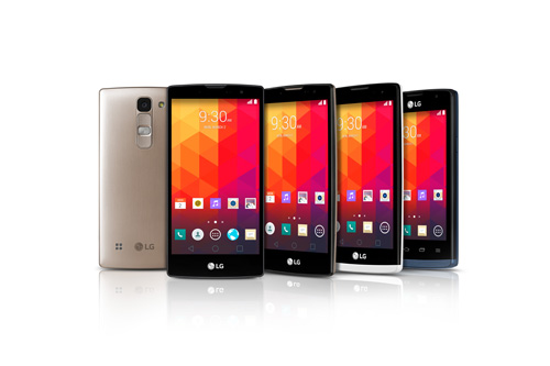 pack of new mid-range smartphones