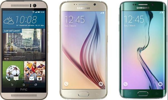 Samsung Galaxy S6, S6 Edge and HTC One M9