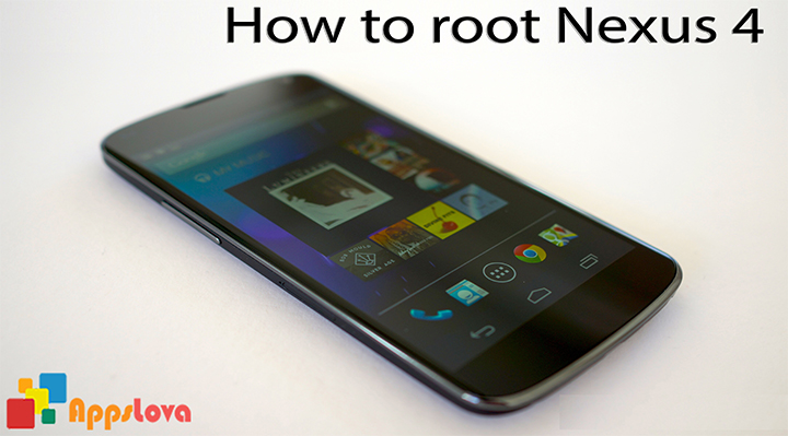 How to root Nexus 4