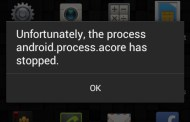 How To Fix Unfortunately, the process android.process.acore has stopped Error