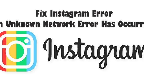 Fix Instagram Error