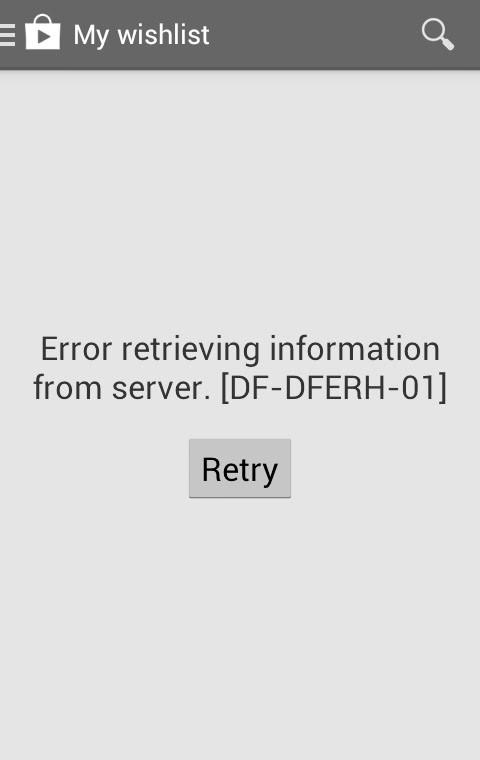How to Fix DF-DFERH-01 Google Play Store Error while retrieving