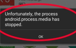 How To Fix Unfortunately, the process android.process.media has stopped Error