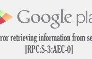 Error retrieving information from server [RPC:S-3:AEC-0] : Android Fix