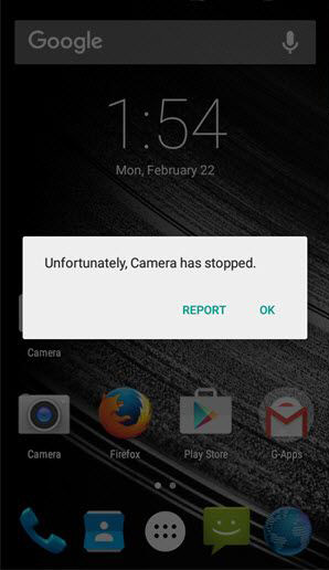 """How to Fix """"Unfortunately, Camera has stopped"""" Error in Android"""