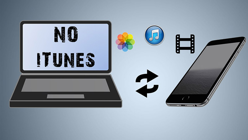 Transfer Music/Photos/Videos from computer to iPhone without