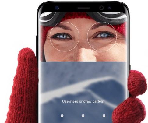 Security features in Samsung Galaxy S8 and S8 Plus