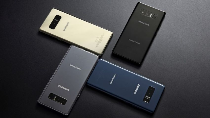Samsung Galaxy Note8 - Color Options