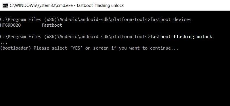 unlock Google Pixel Bootloader
