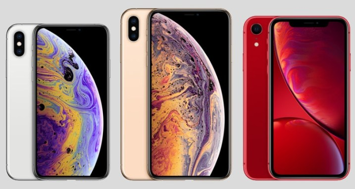 iphone xr iphone xs iphone xs max