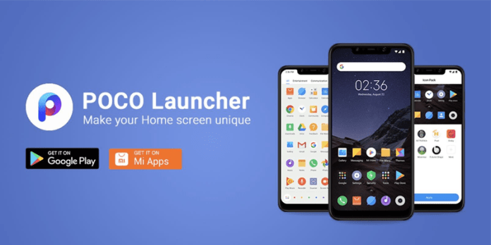 Poco Launcher For Xiaomi and Other Android Smartphone