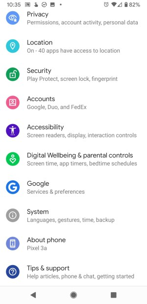 Steps to update software on google pixel