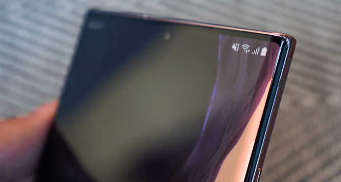 How to fix green tint on Galaxy Note 20 screen