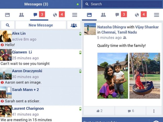 Download Facebook Lite app