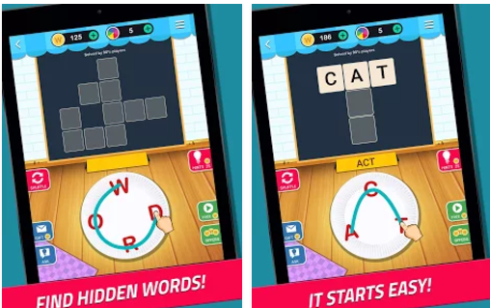 Word Jam A word search and guess brain game For PC