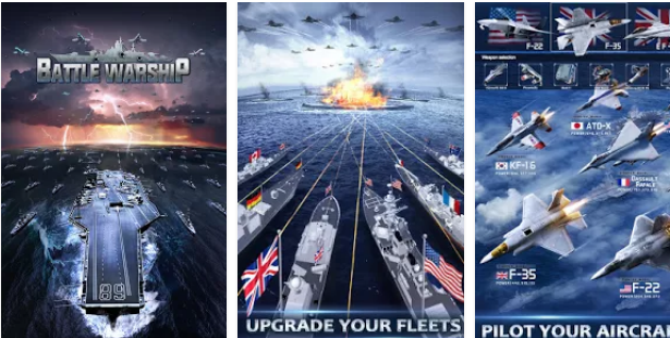 Battle Warship: Naval Empire for PC with gaming graphics
