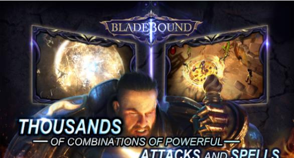 Bladebound hack and slash RPG for PC