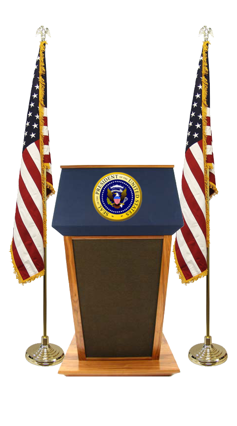 Presidential Stickers by No Tie, LLC