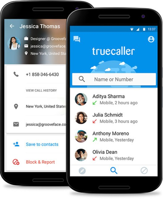 download true caller and location