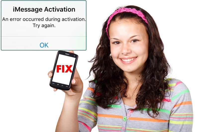 How To Fix iMessage Error or FaceTime Activation Error [2019]