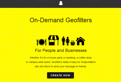 How to Create On-Demand Geofilters for Snapchat