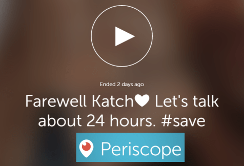 How to Save Periscope Live Streamed Broadcasts Forever