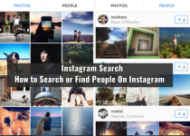 Instagram Search - How to Search or Find People On Instagram