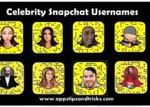Snapchat Usernames - List of Celebrity Snapchat Usernames