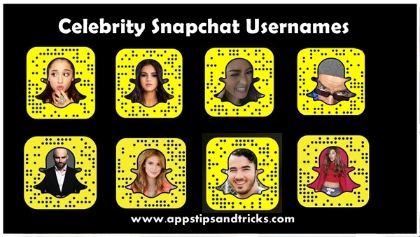Celebrity Snapchat Usernames 2018: List of Famous ...