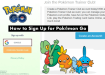 Sign Up for Pokémon Go