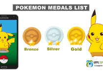 Pokemon Go Medals List