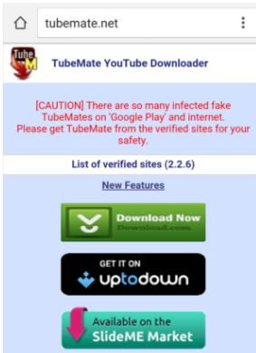 Download Tubemate Latest Version for Android 2019