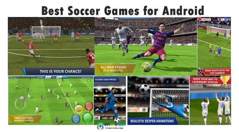 Top 10 Football - Soccer Games For Android 2019 HD OFFLINE ...