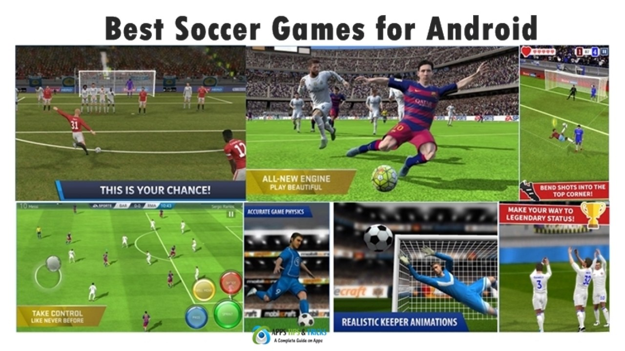 Best Football Games Android Offline & Online 2019
