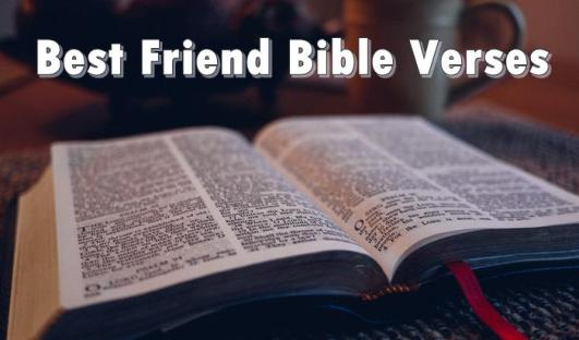 friendship bible quotes