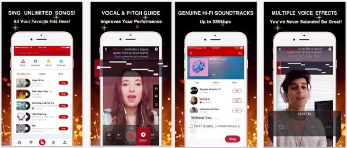 The Voice On Stage - Sing Free Songs app
