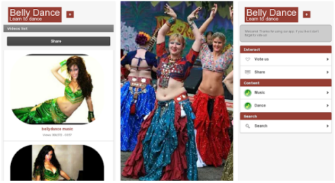 Belly Dance app