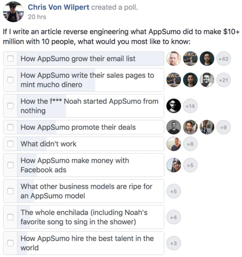 Access to AppSumo Growth Study