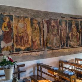Affreschi nella chiesa delle Dodici Marie
