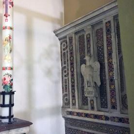 Lastre e Frammenti Cosmateschi nella Cattedrale di San Paolo