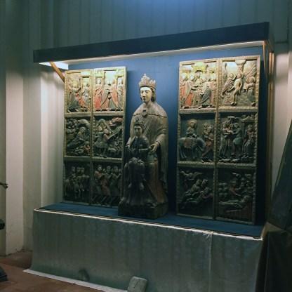 Madonna di Costantinopoli nella chiesa di Santa Maria Maggiore