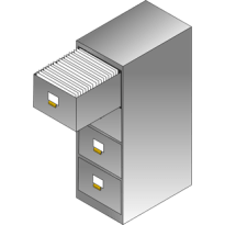 File Cabinet Pro Mac app icon 305 x 305 pixels.