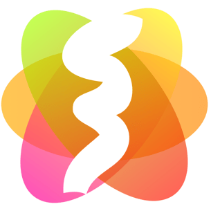 Visual Attributed String Mac app icon 305 x 305.
