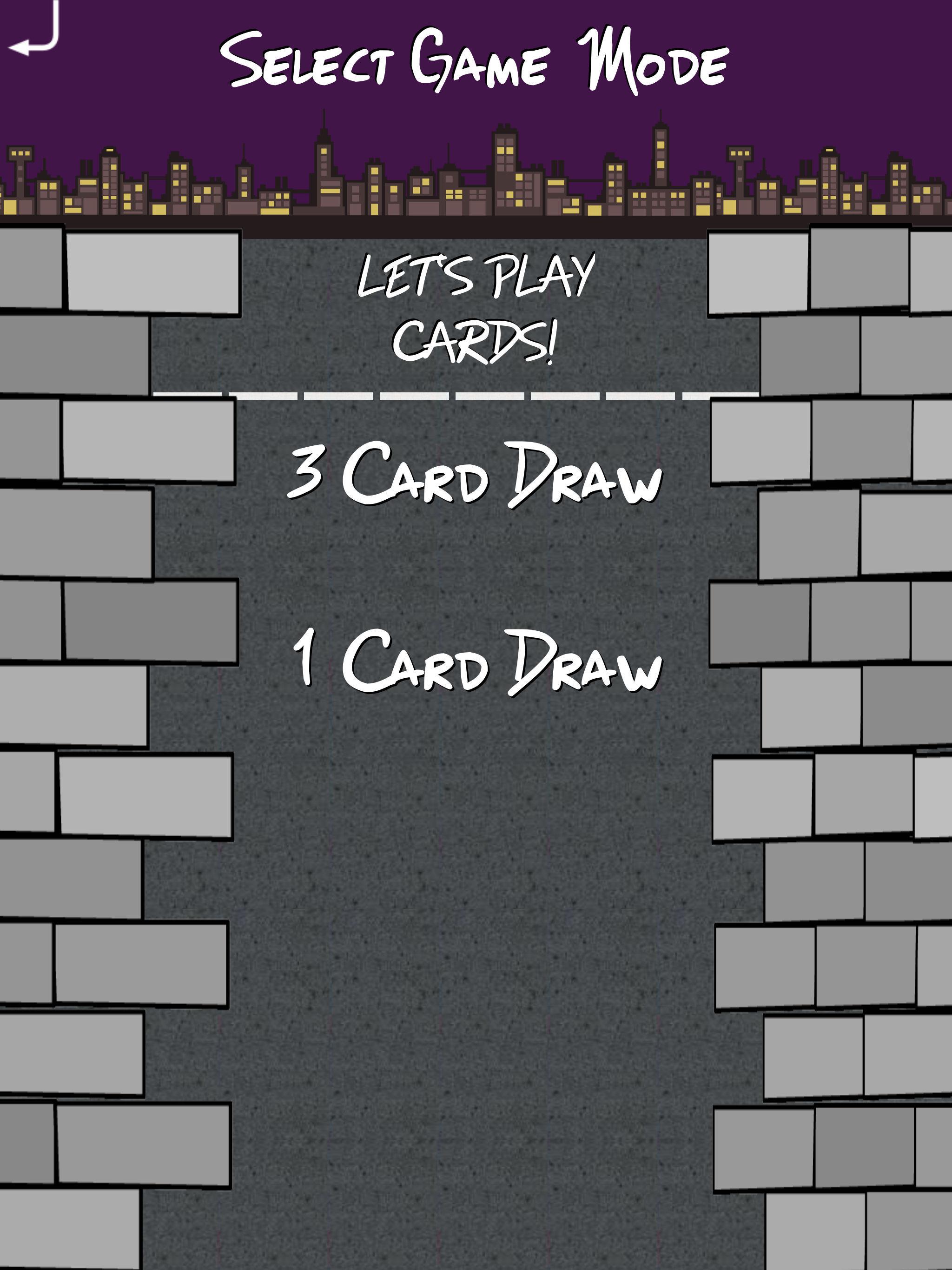 BrickCitySolitaireIpadProScreneshotSelectGameMode