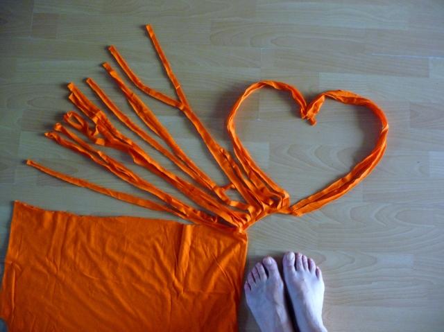 Seguimos con la alfombra de trapillo (2/6)