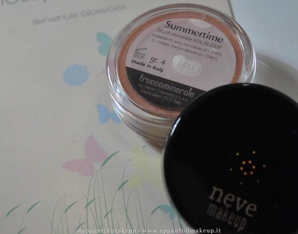 glossybox green neve cosmetics blush summertime