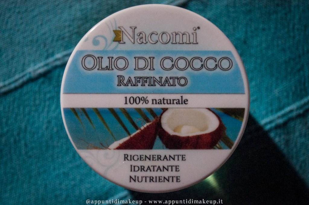 olio di cocco nacomi